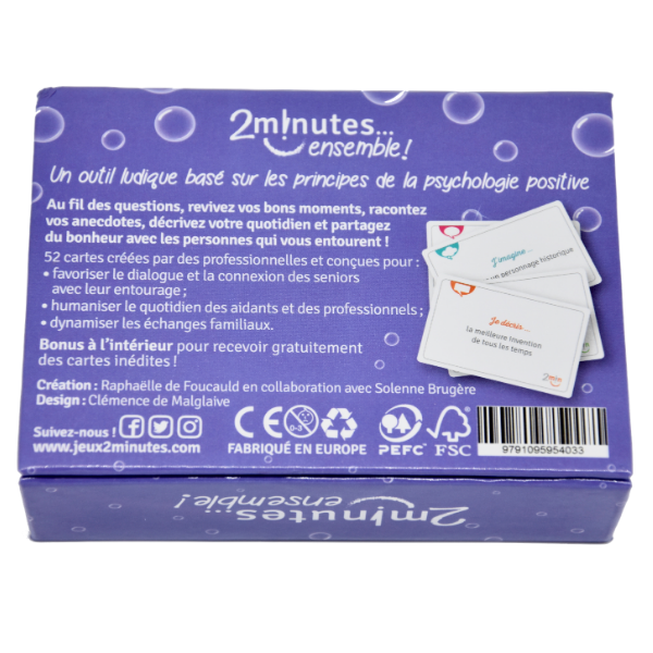 2 minutes ensemble intergénérationnel