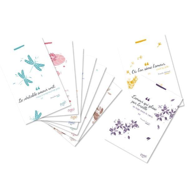 cartes postales 2 minutes de bonheur
